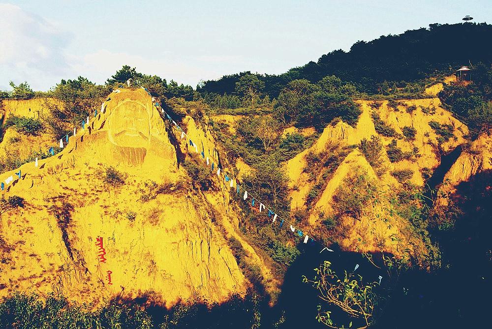 元代谷风景区—中国最大的元代历史土窟文化谷
